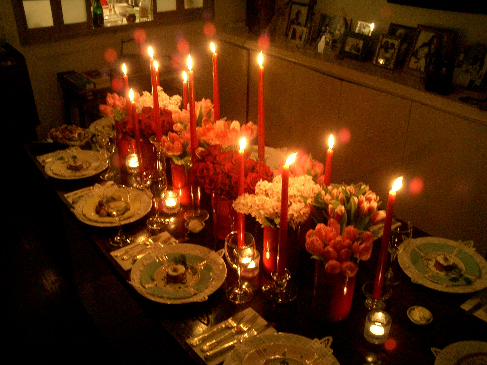 Now this was a lovely dinner party the herbivore kitchen Fall decorating ideas for dinner party
